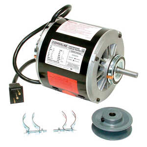Dial  CopperLine  6.5 amps Metal  Evaporative Cooler Motor Kit  Black