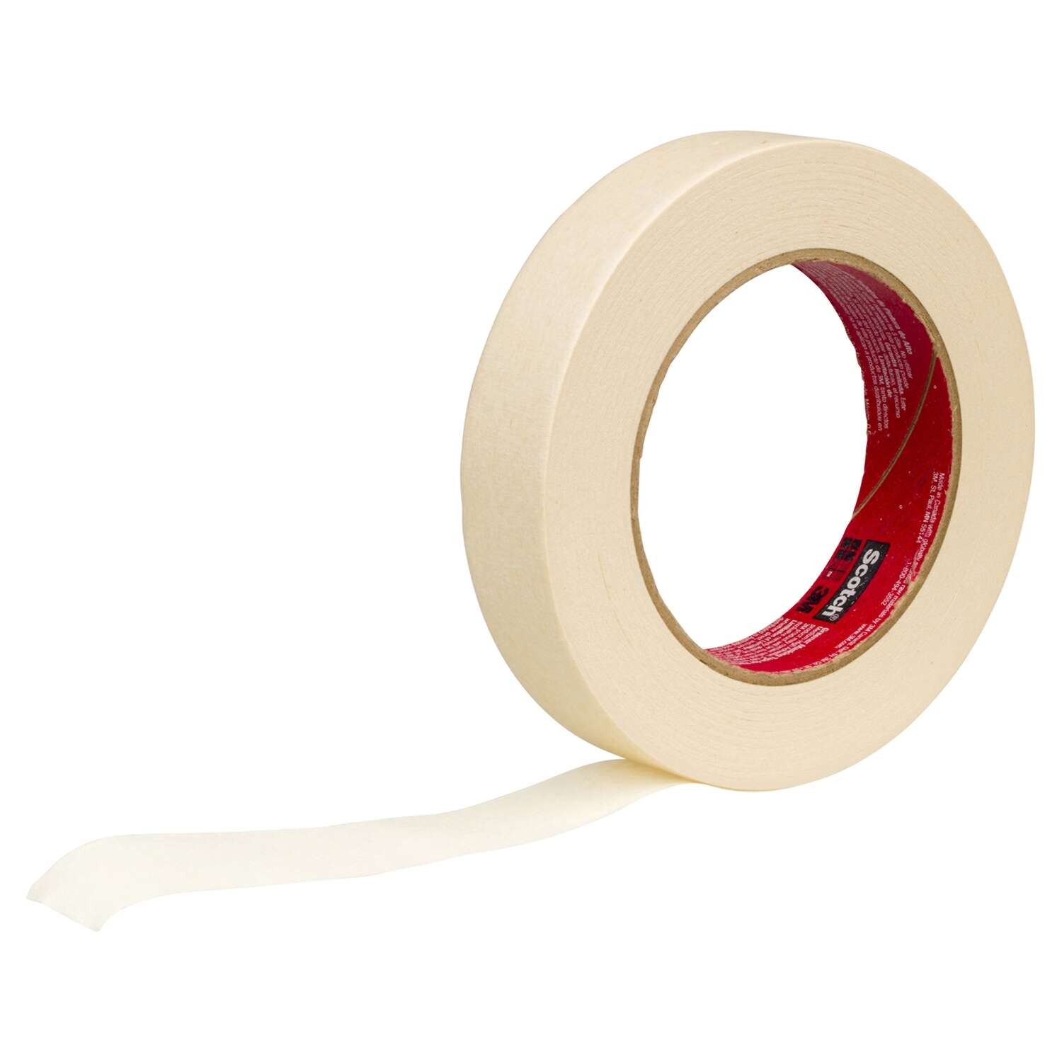 Scotch  60 yd. L x 0.94 in. W Tan  Medium Strength  Masking Tape  1 pk