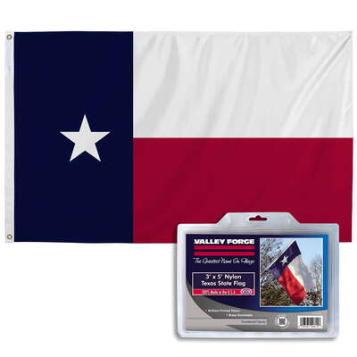 Valley Forge  Texas  Flag  36 in. H x 60 in. W