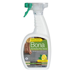 Bona Lemon Mint Scent Hard Surface Floor Cleaner Liquid 36 oz.