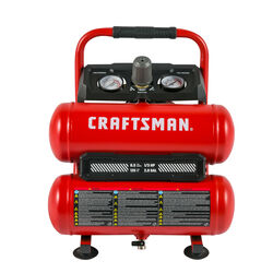 Craftsman 2 gal. Twin Stack Portable Air Compressor 125 psi 0.3 hp
