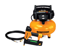 Bostitch  Pneumatic  18 Ga. Brad  Nailer and Compressor  Kit