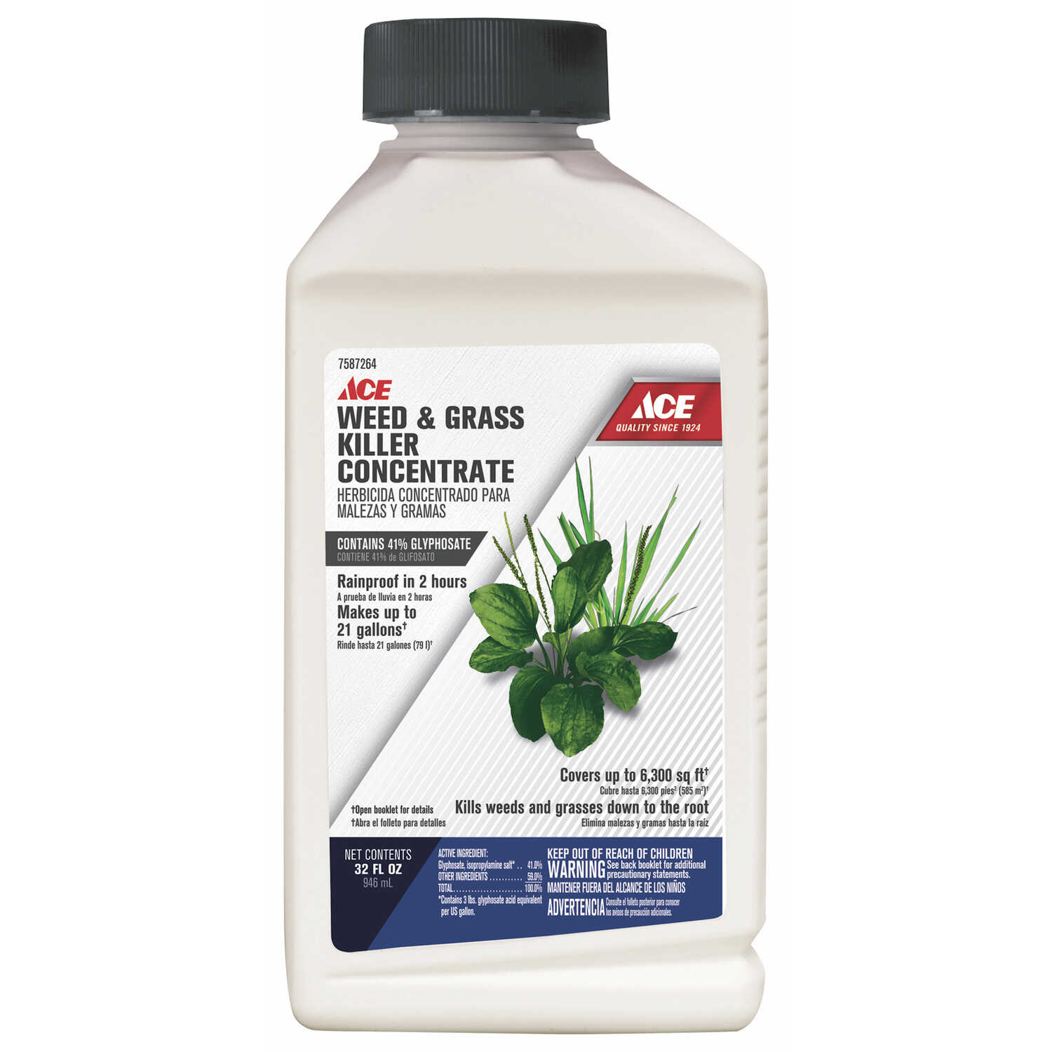 Ace Weed and Grass Killer Concentrate 32 oz  - Ace Hardware