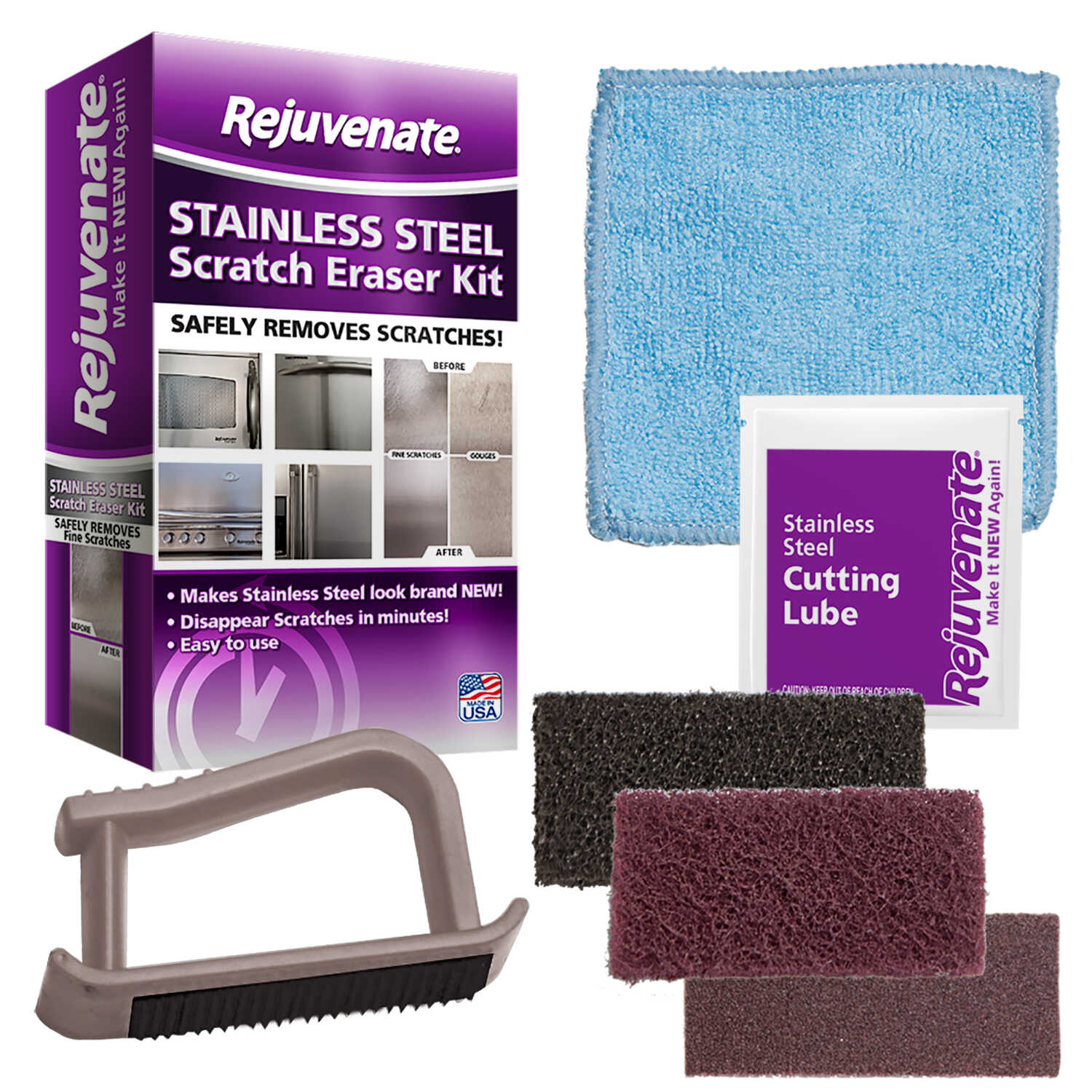 Rejuvenate Stainless Steel Scratch Eraser Kit - Ace Hardware
