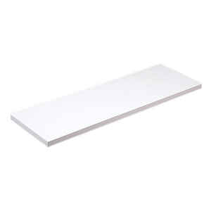 Knape & Vogt  10 in. H x 10 in. W x 48 in. D White  Melatex Laminate/Particle Board  Shelf