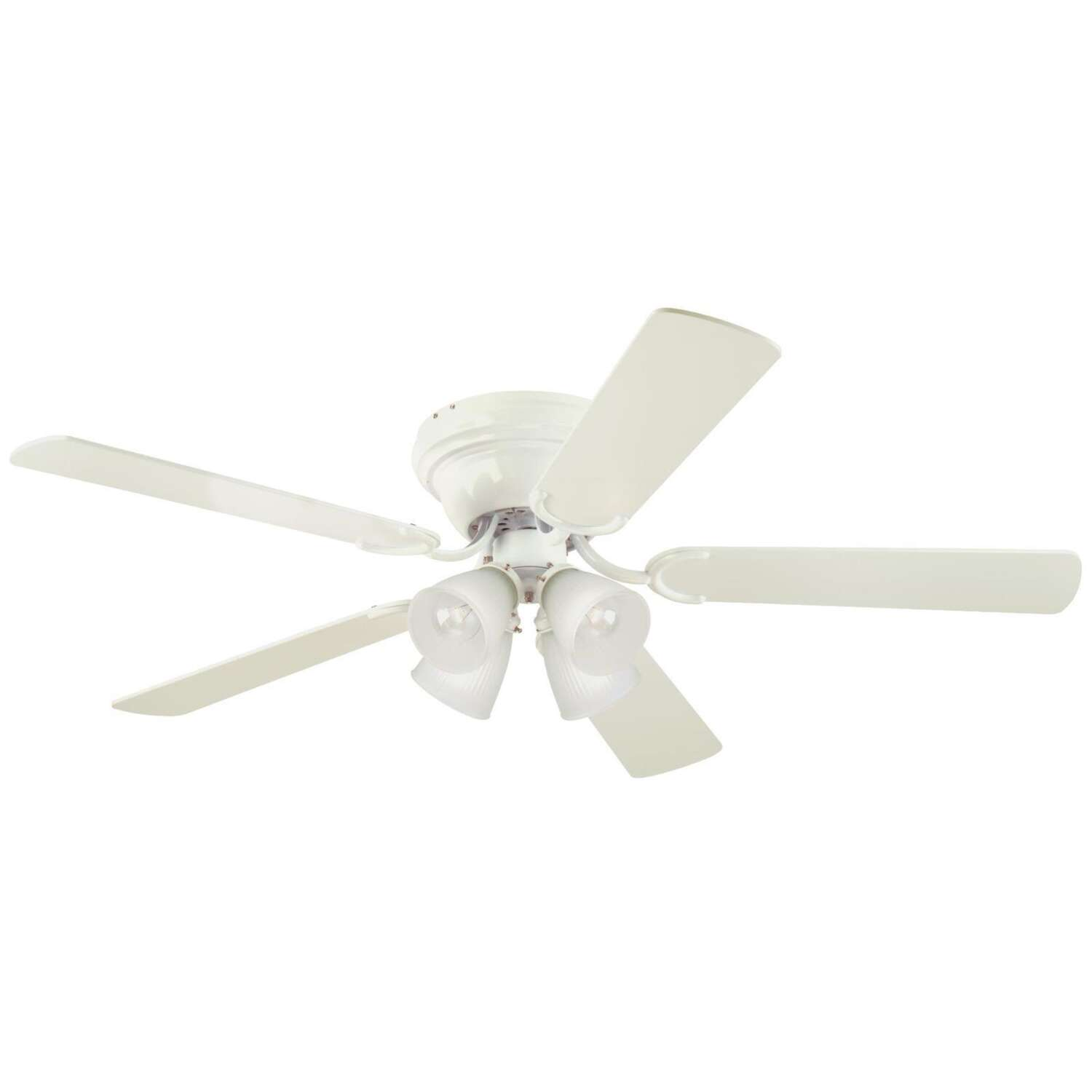 Westinghouse  Contempra IV  52 in. Antique White  Indoor  Ceiling Fan