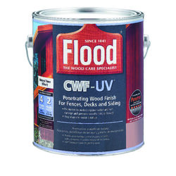 Flood  CWF-UV  Matte  Natural  Water-Based  Wood Finish  1 gal.