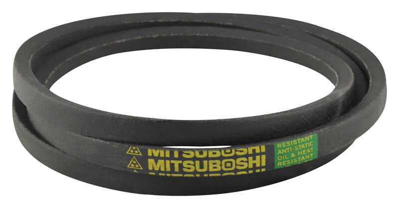 Mitsuboshi  General Utility V-Belt  0.5 in. W x 56 in. L For All Motors