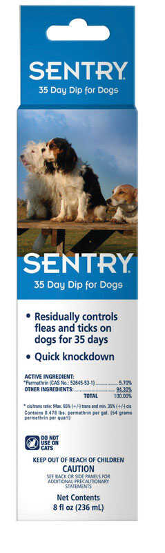 Sentry  Gel  Flea Treatment  5.7% Permethrin  8 oz.