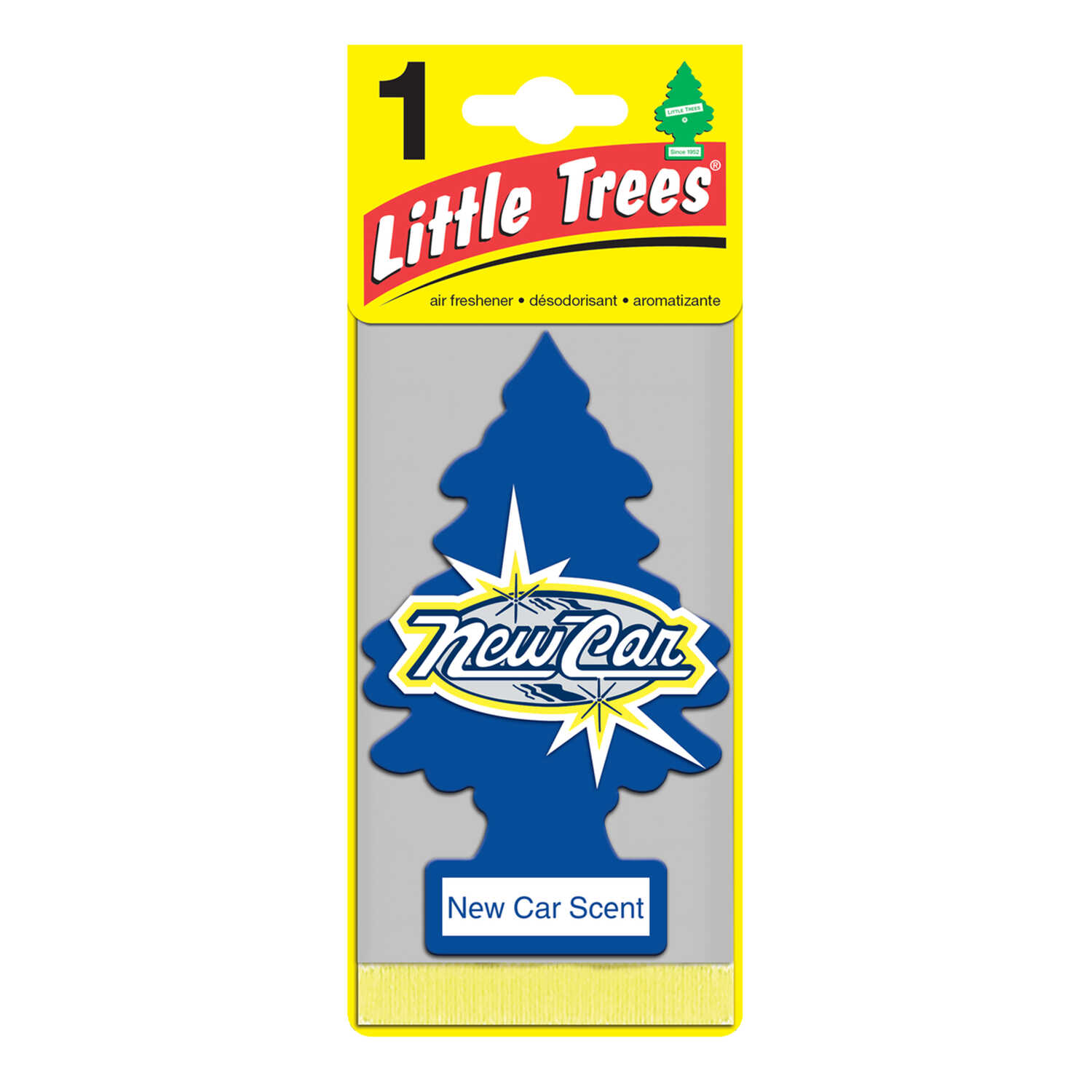 Little Trees  Car Air Freshener  1 pk New Car