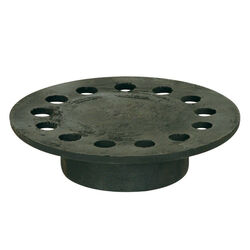 Sioux Chief  5 in. Weathered  Cast Iron  Round  Floor Drain Strainer