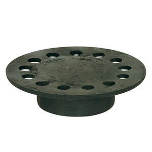 Sioux Chief  5 in. 5 in. L Weathered  Cast Iron  Round  Floor Drain Replacement Strainer