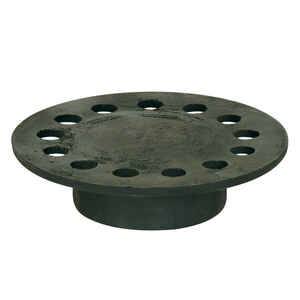 Sioux Chief  5 in. Weathered  Cast Iron  Round  Floor Drain Replacement Strainer