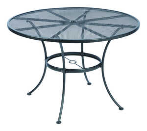 Living Accents  Black  Winston  Round  Dining Table