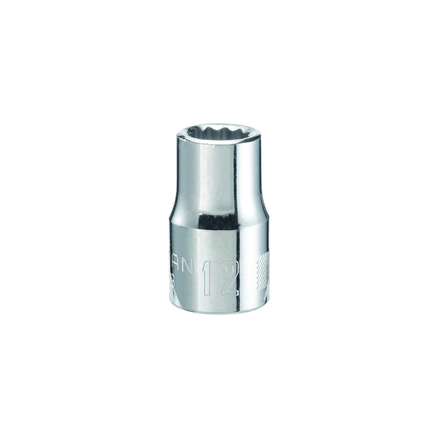 Craftsman  12 mm  x 1/2 in. drive  Metric  12 Point Standard  Socket  1 pc.
