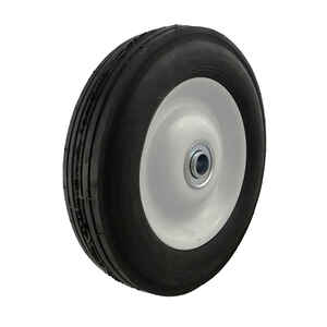 Marathon  8 inch  Dia. x 8 in. Dia. 225 lb. capacity Offset  Wheelbarrow Tire  Rubber  1 pk