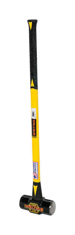 Seymour  Structron  8 lb. Metal Head Sledge Hammer  36 in. L x 1 in. Dia.