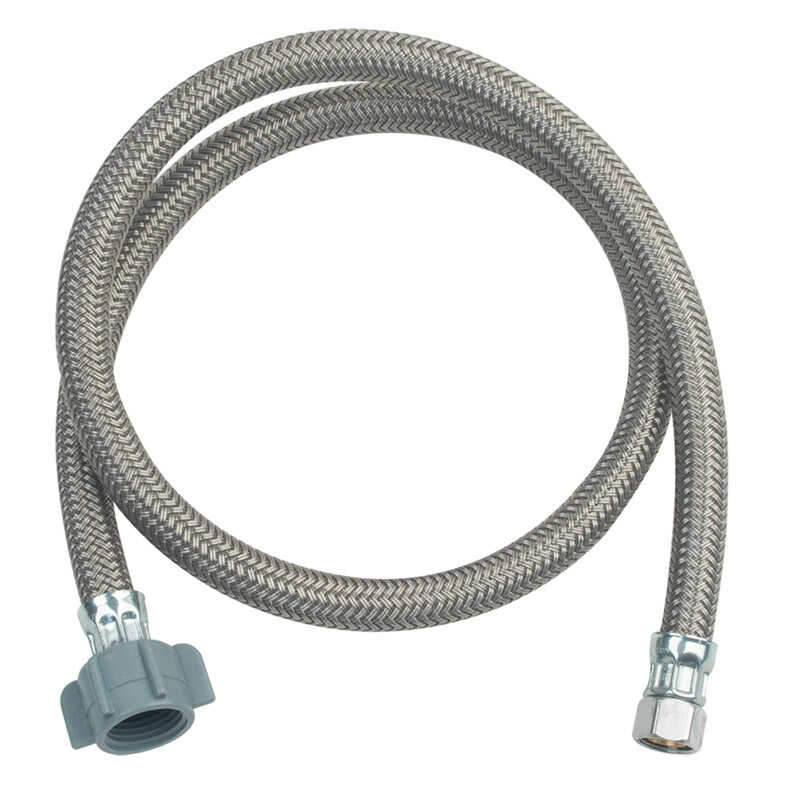BrassCraft  Speedi Plumb Plus  3/8  Compression  1/2  FIP  Polymer  36 in. L Faucet Supply Line