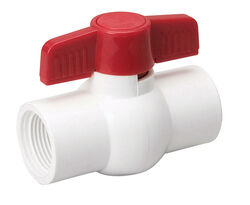B&K  ProLine  3/4 in. PVC  FIP  Ball Valve  Full Port
