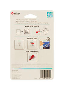 Velcro Brand  HANGables  Removable Fasteners  8 pk