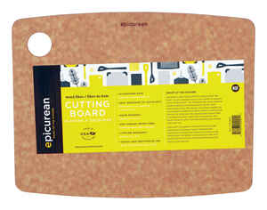 Epicurean  9 in. W x 11.5 in. L Natural  Richlite Paper Composite  Cutting Board