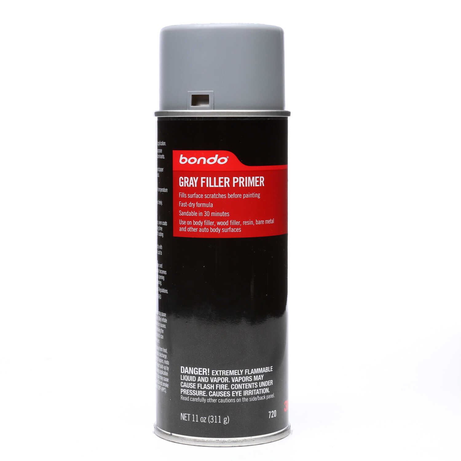 Bondo Grey Lacquer-Based Sanding Primer For All Surfaces 11