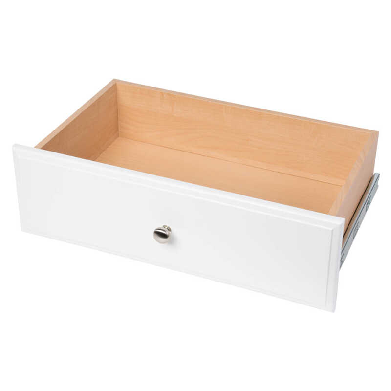 Easy Track  8 in. H x 24 in. W x 14 in. L Wood  Deluxe Drawer  1 pk