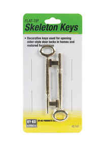 Hy-Ko  Skeleton  House  Key Blank  EZ# KC167  Single sided