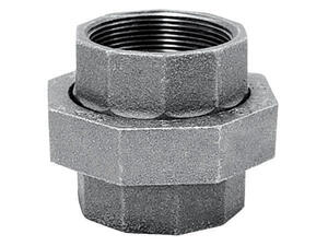 Mueller  4 in. FPT   x 4 in. Dia. FPT  Galvanized  Malleable Iron  Union