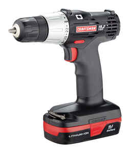 Craftsman  C3  19.2 volt 3/8 in. Cordless Compact Drill/Driver  Kit 600 rpm 2 speed