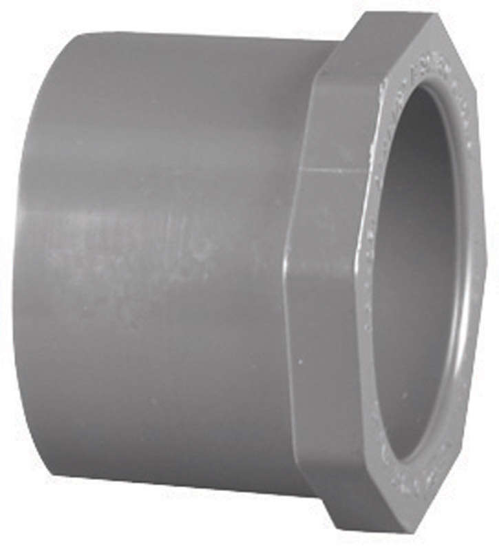Charlotte Pipe Schedule 80 1 in. Spigot x 1/2 in. Dia. Slip PVC Reducing Bushing