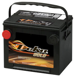 Deka Gold Series 650 CCA 12 volt Automotive Battery