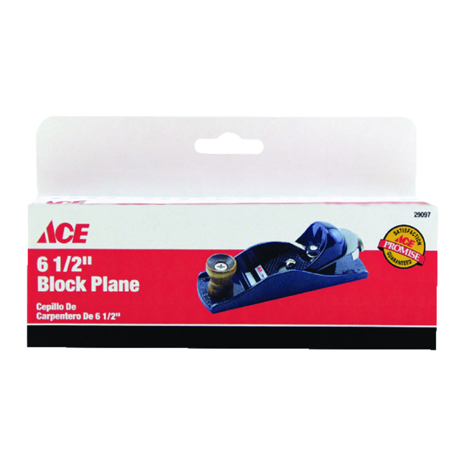 Ace  6.5 in. L x 1.6 in. W Block Plane  Cast Iron  Black