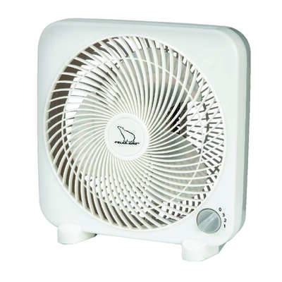 Polar Aire  High Velocity  11.18 in. H x 9 in. Dia. 3 speed Electric  Box Fan