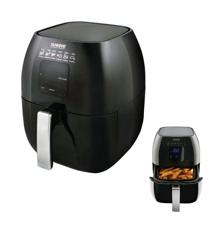 NuWave Brio Black 3 qt. Digital Air Fryer