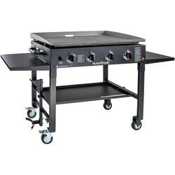 Blackstone  4 burners Liquid Propane  Outdoor Griddle Grill  Black