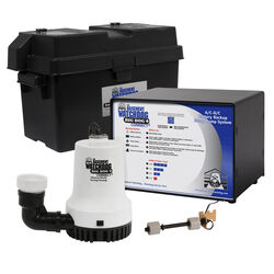 Basement Watchdog  1/3 hp 3,500 gph Thermoplastic  Dual Reed  Battery  Backup Sump Pump