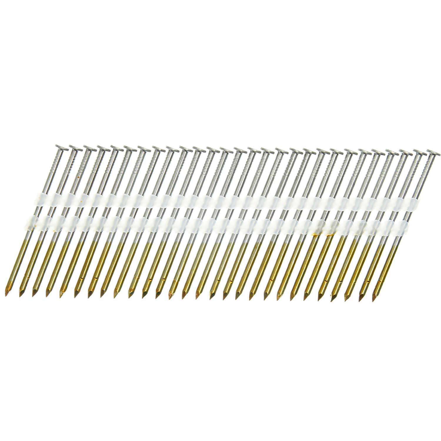 Senco  20 deg. 16 Ga. Smooth Shank  Angled Strip  Framing Nails  3 in. L x 0.11 in. Dia. 500 box