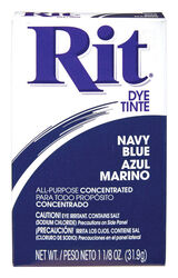 Rit  Navy Blue  For Fabric Dye