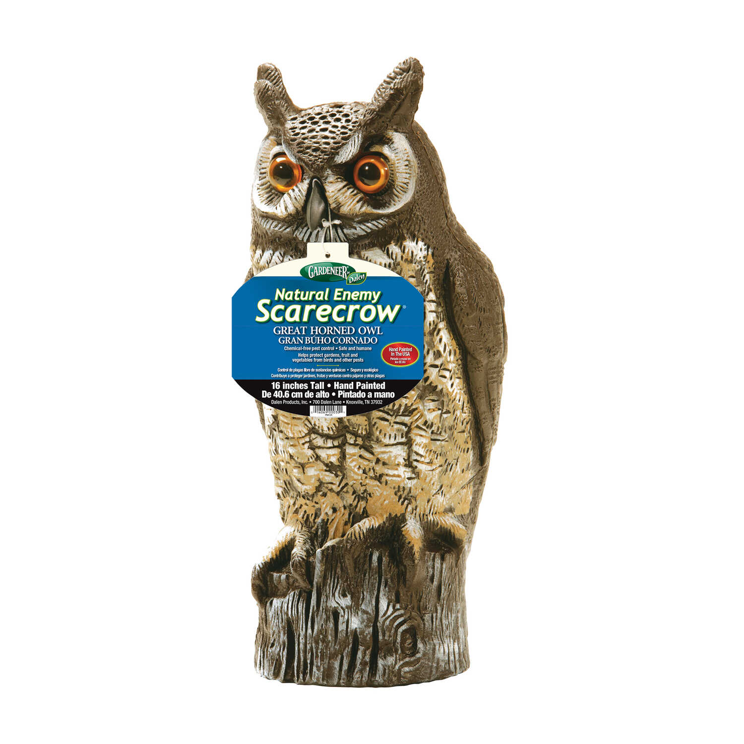 Dalen  Great Horned Owl  For Multiple Animal Types Animal Repellent
