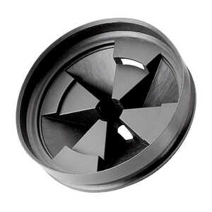 InSinkErator  Garbage Disposal Strainer  N/A hp Black