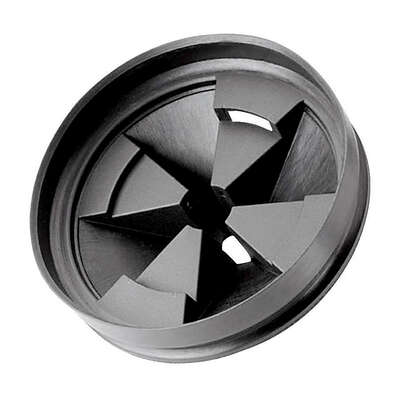 InSinkErator  3 in. Dia. Rubber  Sink Strainer