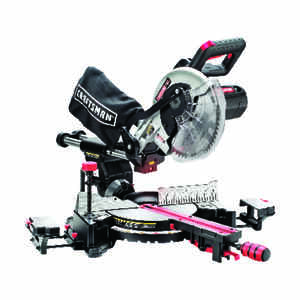 Craftsman  10 in. Corded  Compound Miter Saw with Laser  120 volts 15 amps 4,800 rpm Kit