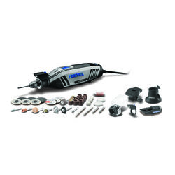 Dremel  4300  1/8 in. Corded  Rotary Tool  Kit  1.8 amps 120 volt 35000 rpm