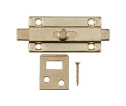 Ace  Bright Brass  Brass  Slide Bolt