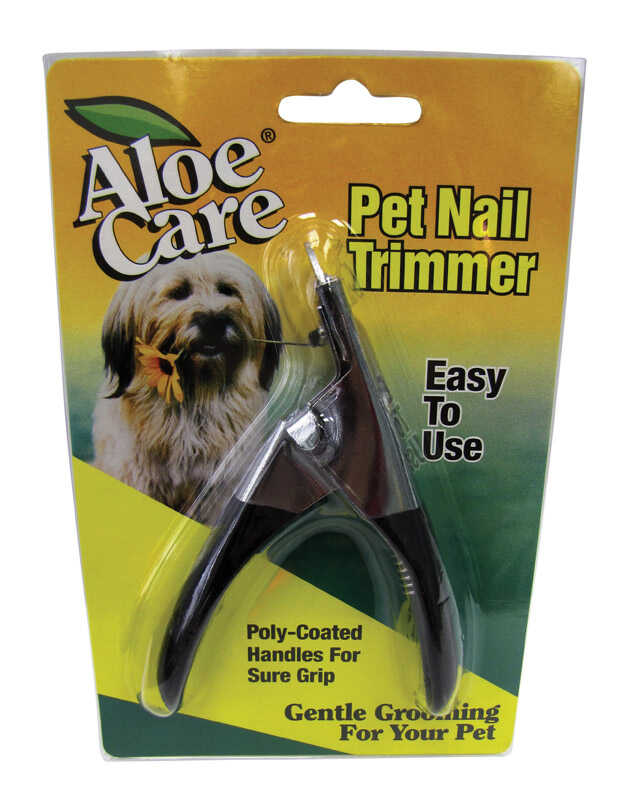 Aloe Care  For Dog Black  Trimmers  1  1 pk