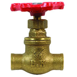 BK Products ProLine 3/8 in. FIP Brass Gate Valve Lead-Free