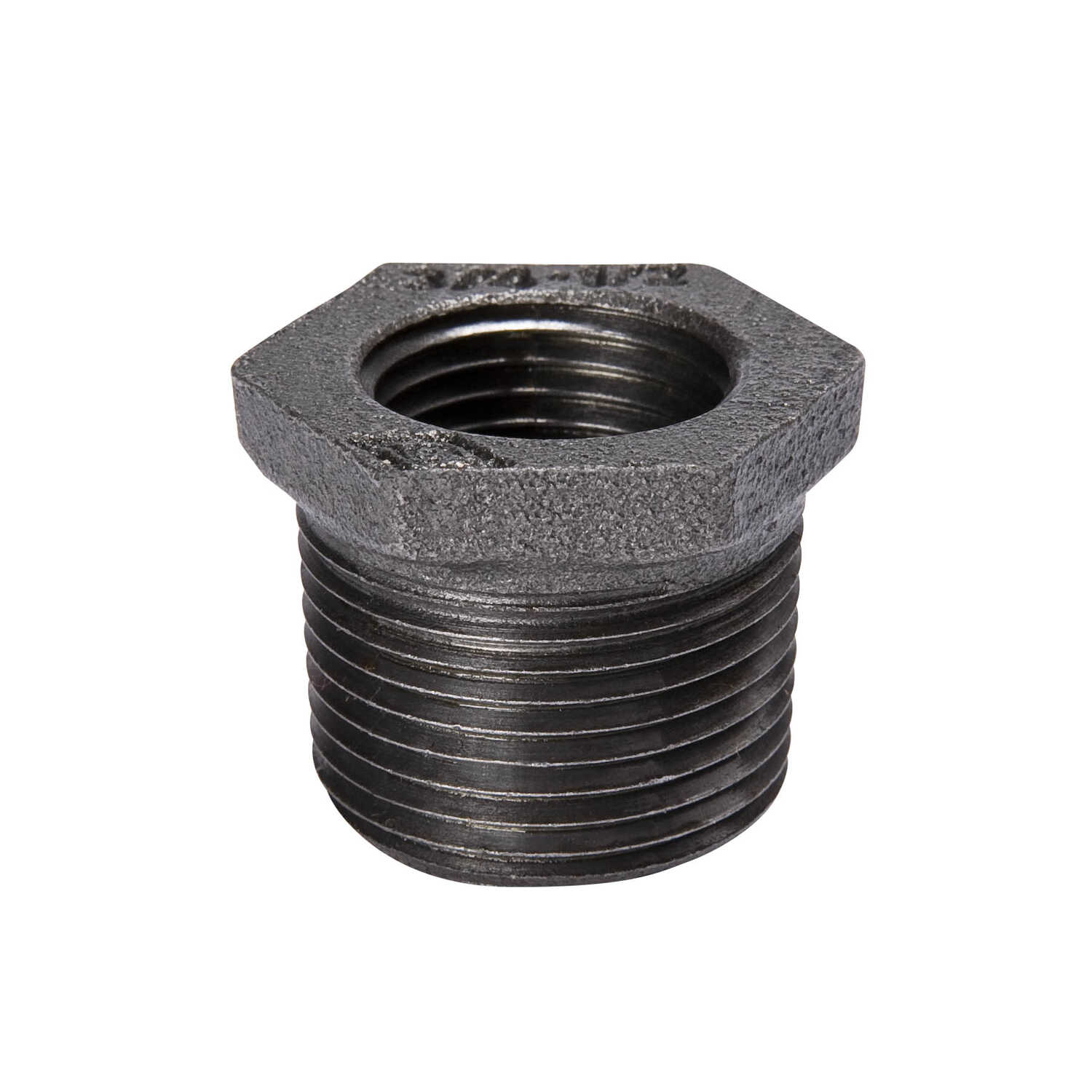 B & K  Southland  3 in. FPT   x 1-1/2 in. Dia. FPT  Black  Malleable Iron  Hex Bushing