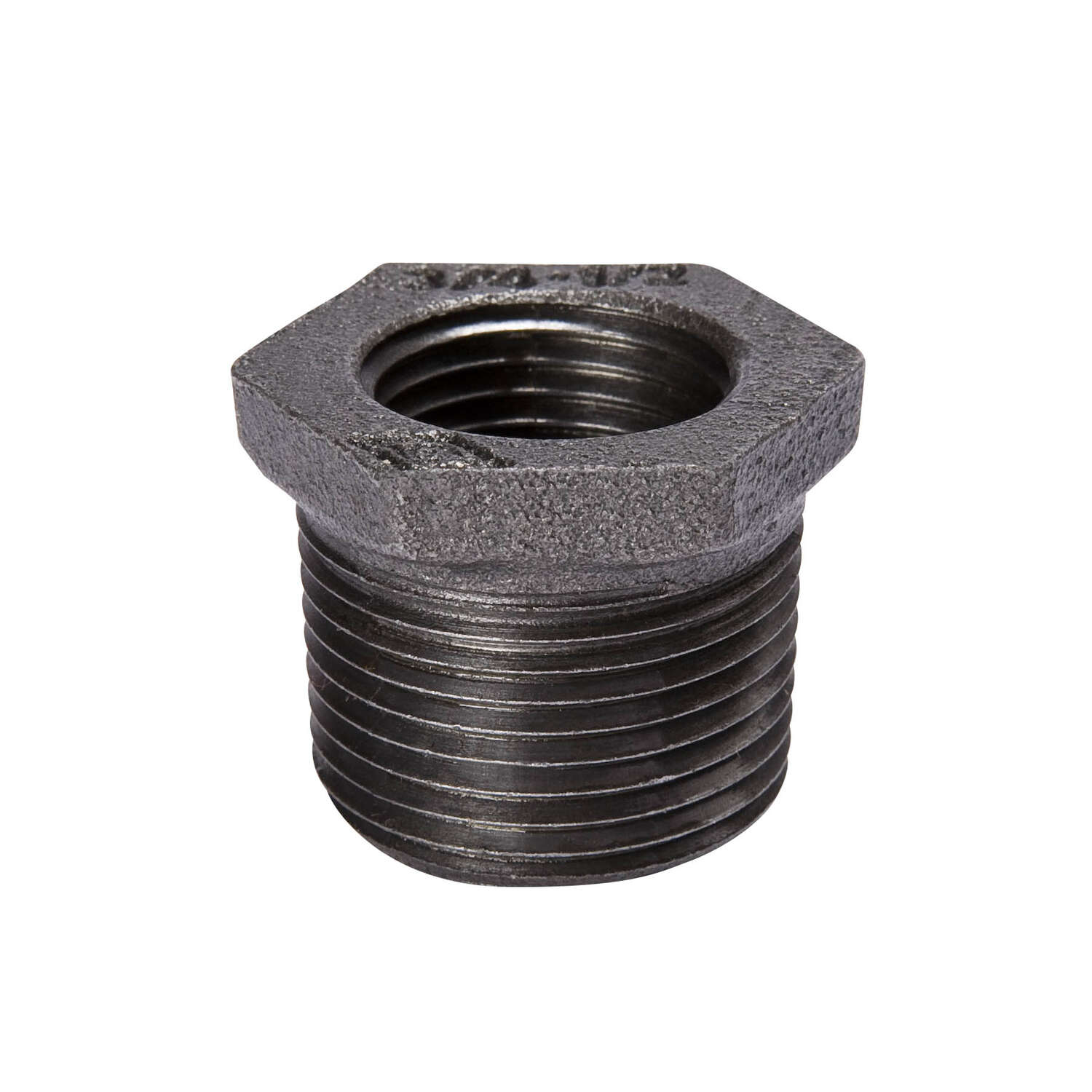 BK Products  Southland  3 in. FPT   x 1-1/2 in. Dia. FPT  Black  Malleable Iron  Hex Bushing