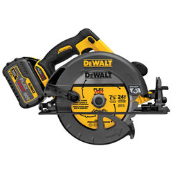 DeWalt  FLEXVOLT  7-1/4 in. Cordless  60 volt Circular Saw  Kit  5800 rpm